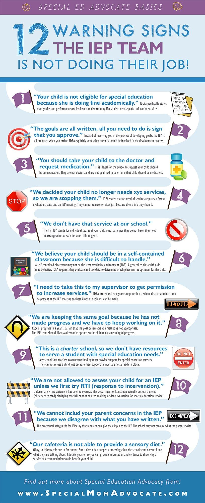 12 Warning Signs Iep Team Is Not Doing >> 12 Warning Signs The Iep Team Is Not Doing Their Job By Making