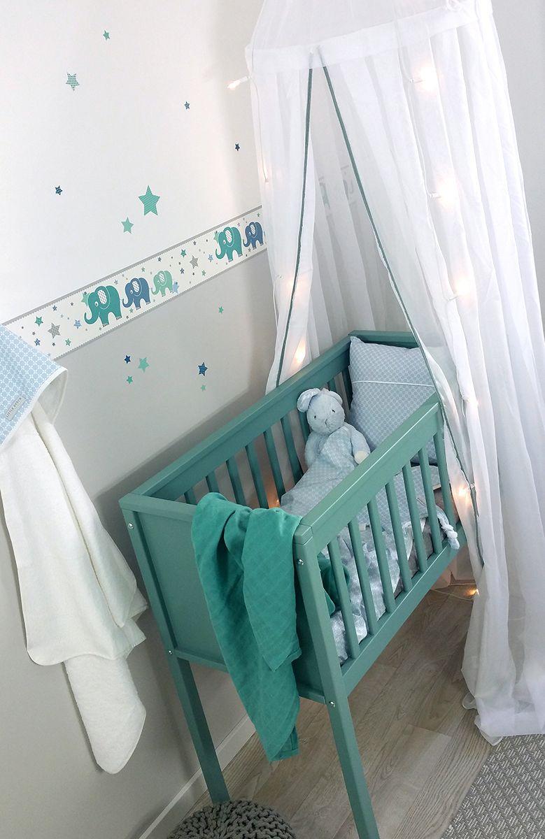 dinki balloon kinderzimmer bord re elefanten grau mint blau selbstklebend bei fantasyroom. Black Bedroom Furniture Sets. Home Design Ideas
