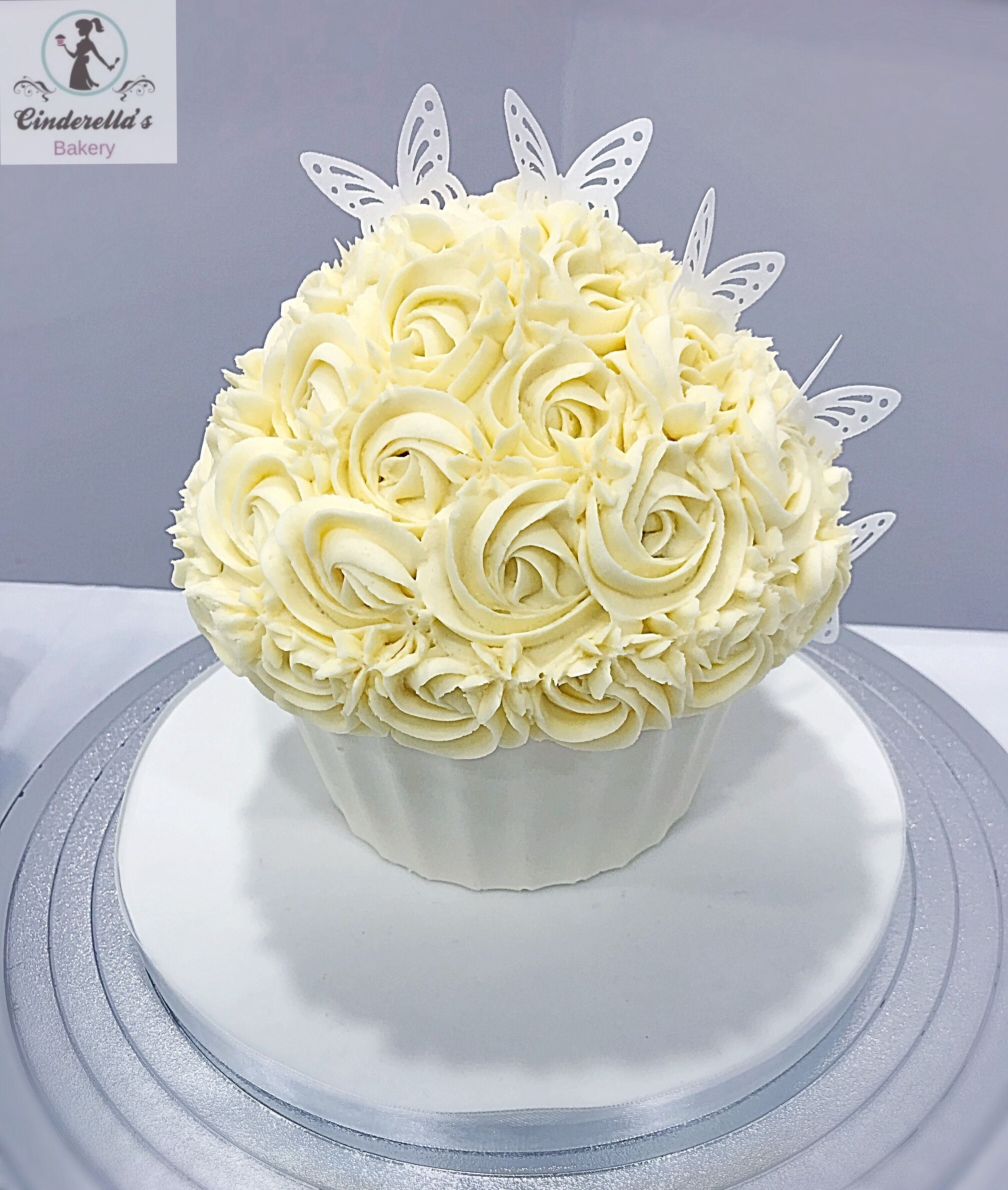 Pin by Cinderella\'s Bakery on Cinderella\'s Bakery - Giant Cupcakes ...