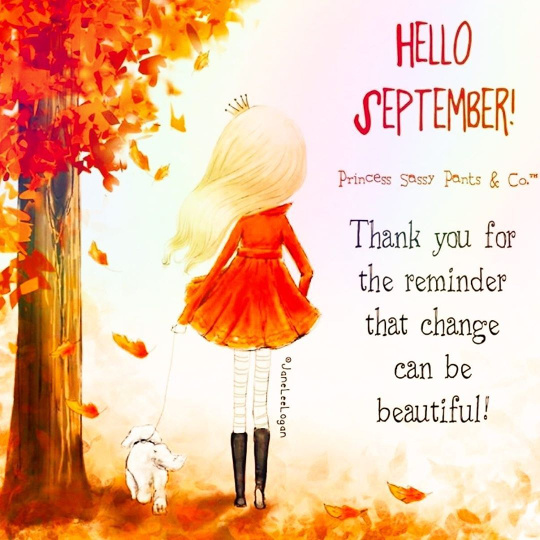 .•°¤*(¯`★´¯)*¤° Hello September °¤*(¯´★`¯)*¤°•. . . . #change really can be #beautiful . . #september #autumnvibes