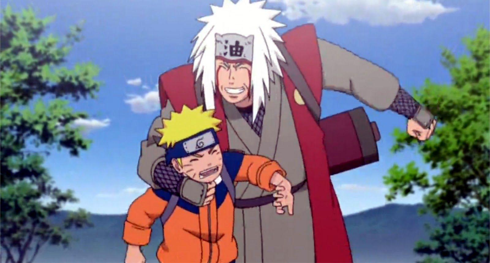 Jiraiya Naruto | Naruto and Jiraiya | Naruto Fans