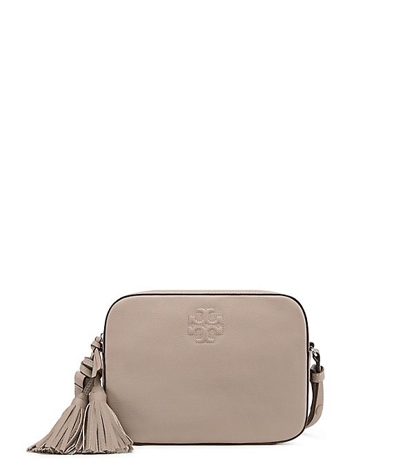 5839a5689062f Tory Burch Thea Shoulder Bag in French Gray