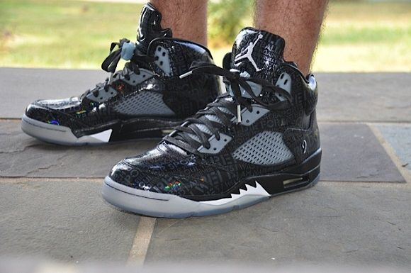 cheap for discount b8263 7dc40 Air Jordan V 5 Doernbecher On Feet Images | Sneakers | Air ...