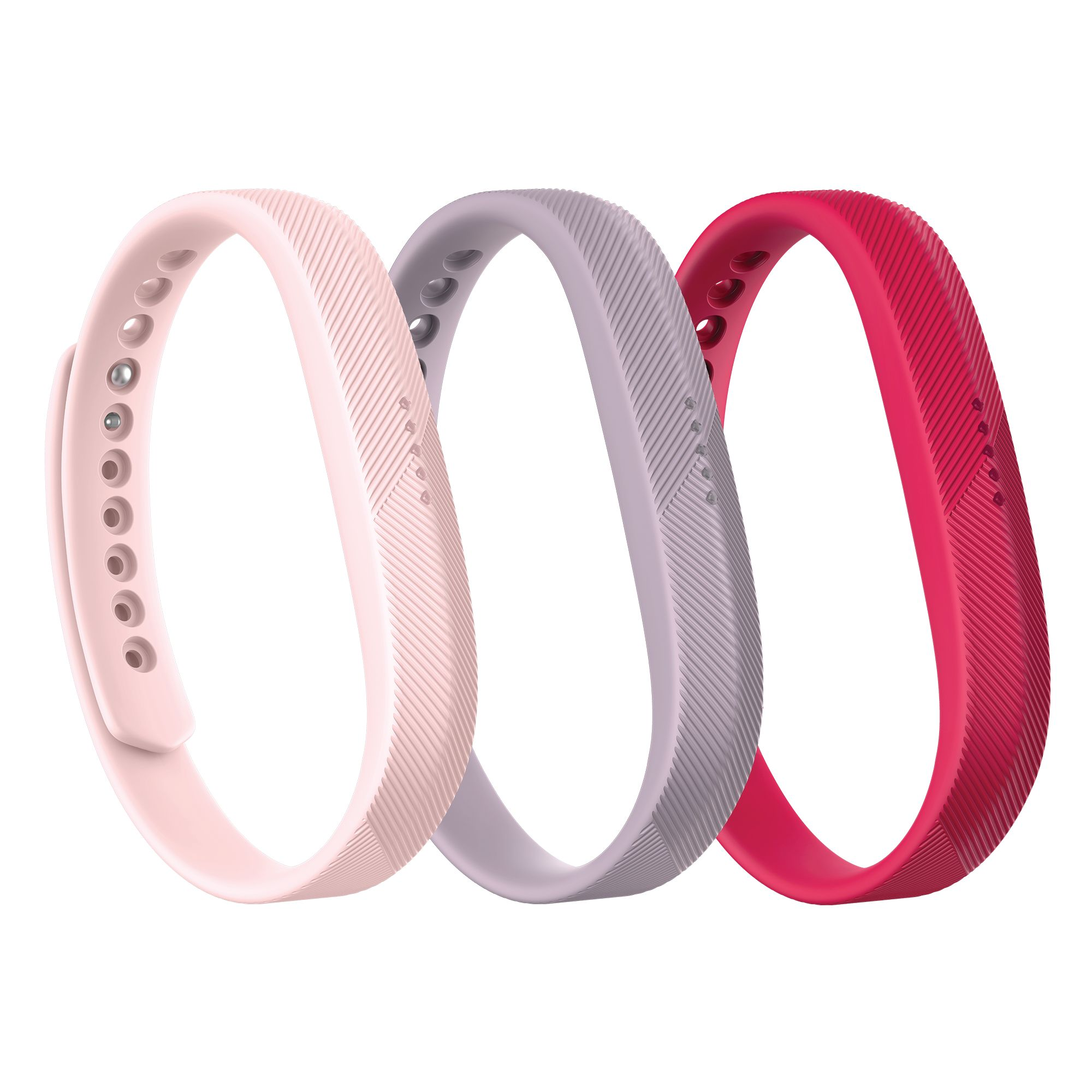 Fitbit Flex 2 Accessory Pink Band 3 Pk Fitbit Flex Fitbit Wrist Fitbit