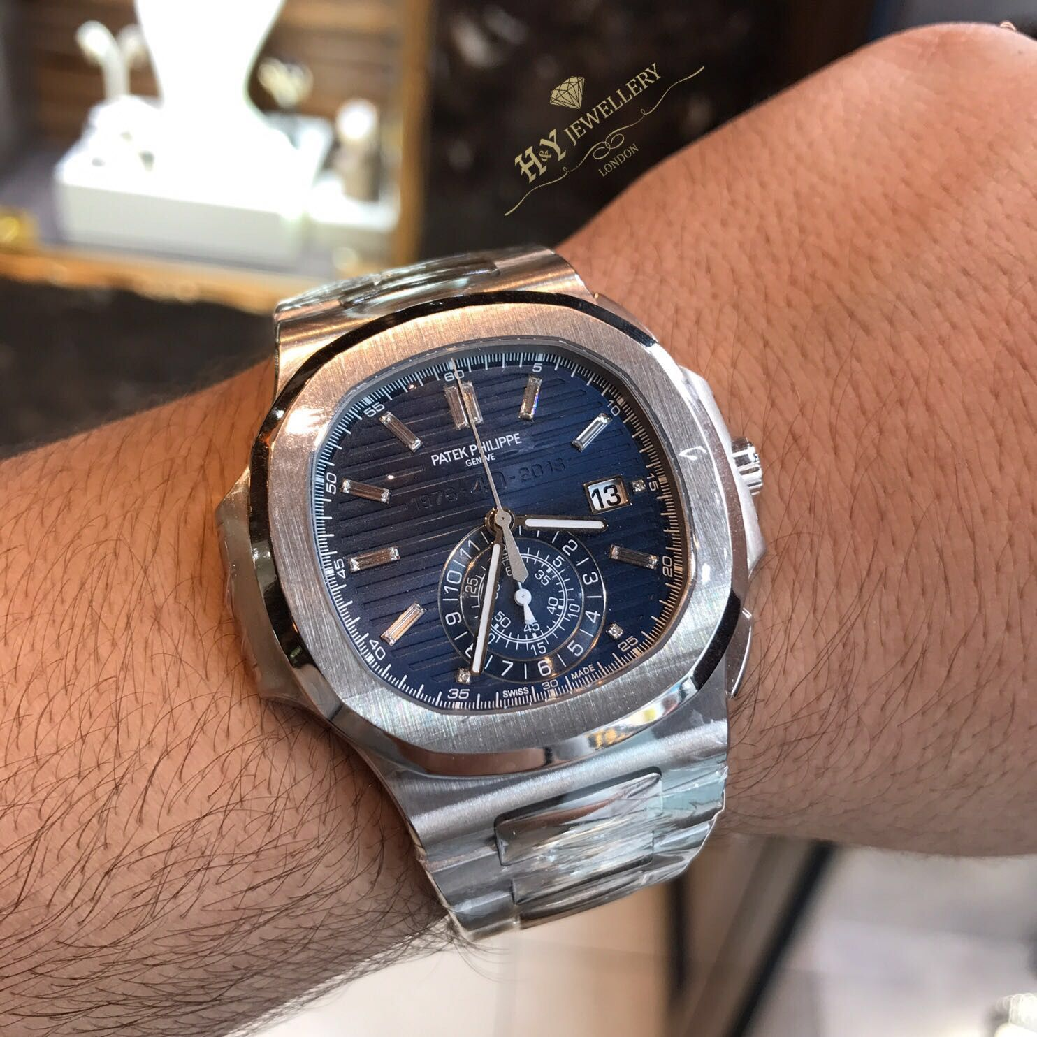 115e0e99ec1 Patek Philippe Nautilus 40th Anniversary 5976 1G-001 now in stock ...