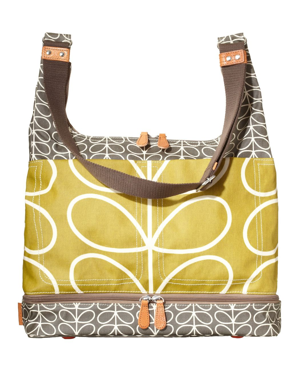 f5d6bb7a5e6 Orla Kiely Changing Bag - Olive Green - Changing Bags - Mamas   Papas