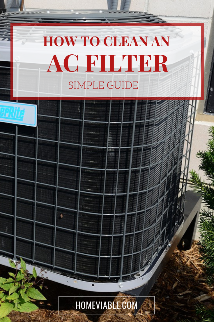 Learn the step by step process for cleaning your air