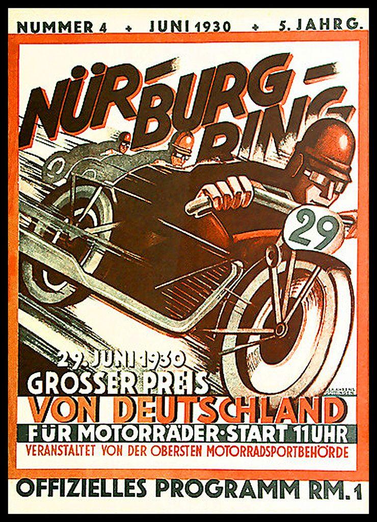1930 German Grand Prix at the Nurburgring | Kinderzimmer | Pinterest ...