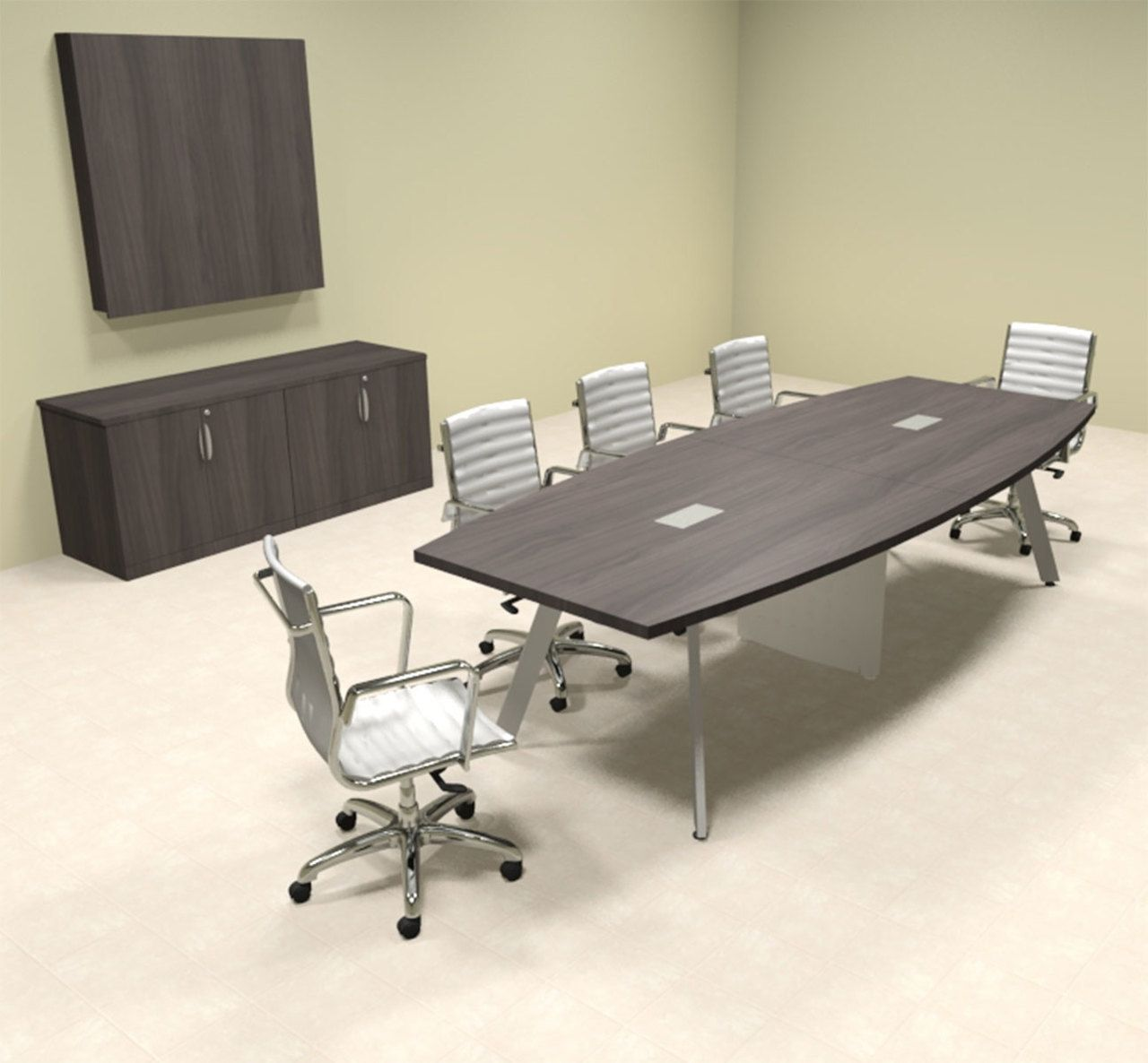 Modern Boat Shaped 10 Feet Conference Table Of Con Cv14 With Images Conference Table Table Modern Conference Table