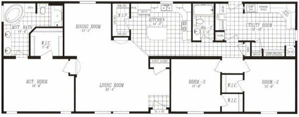 Marlette Syrah Manufactured Home   J U0026 M Homes LLC