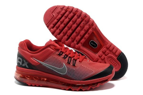 super popular 4980b 87b2a Nike Air Max 2013 Differentiation Men s shoes Red Black