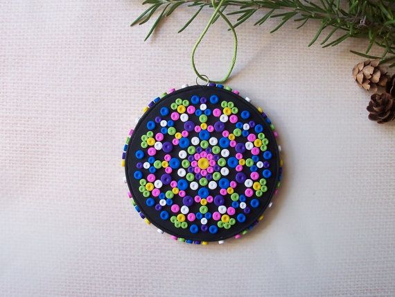 Kaleidoscope Christmas Tree Ornament Non Traditional
