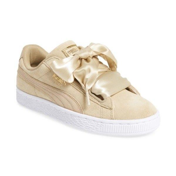 Womens Puma Basket Heart Sneaker ($90