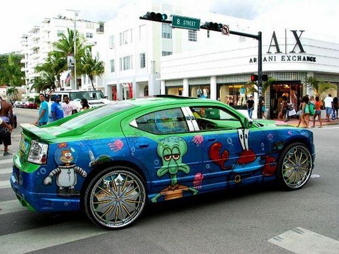 Cool Customized Cars STRANGE GHETTO BIG RIM CUSTOM CARS - Cool custom cars