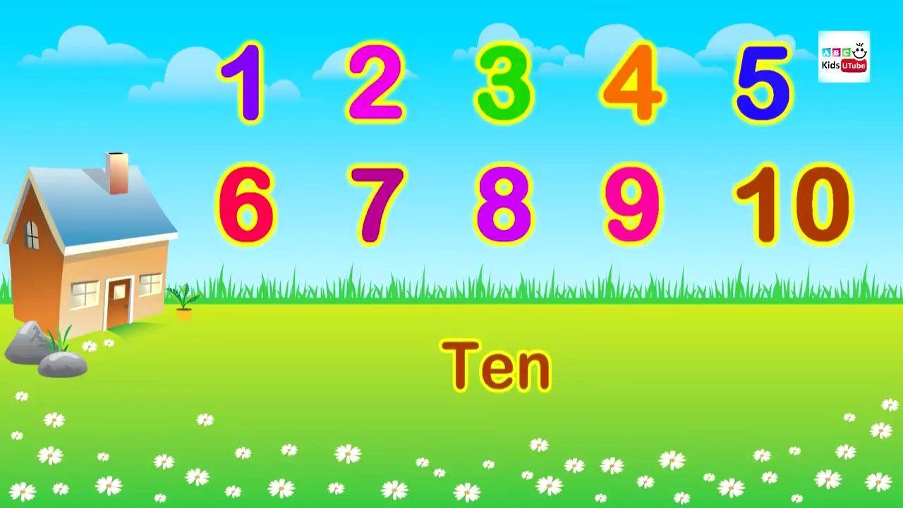 Songs for Children, Numbers Song, Nursery Rhymes For Preschoolers ...