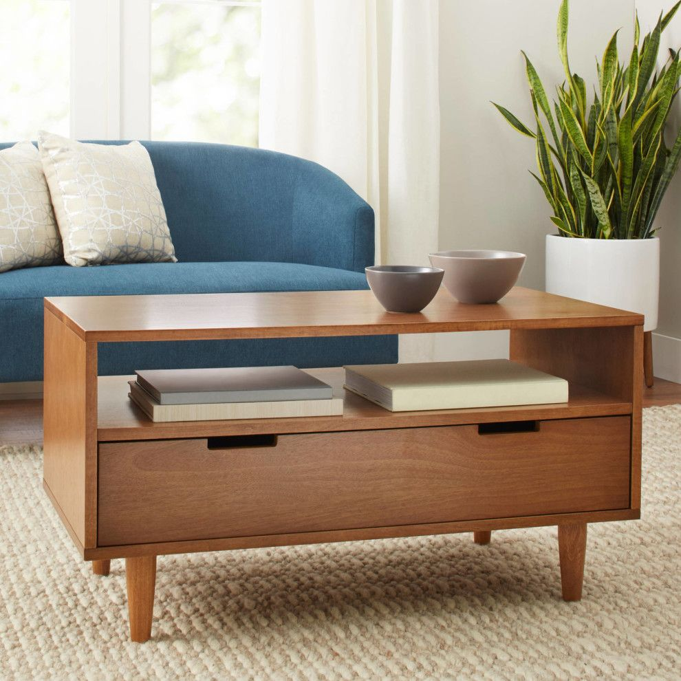 32 Things No One Will Believe You Got From Walmart Mid Century Modern Coffee Table Modern Coffee Tables Mid Century Coffee Table [ 990 x 990 Pixel ]