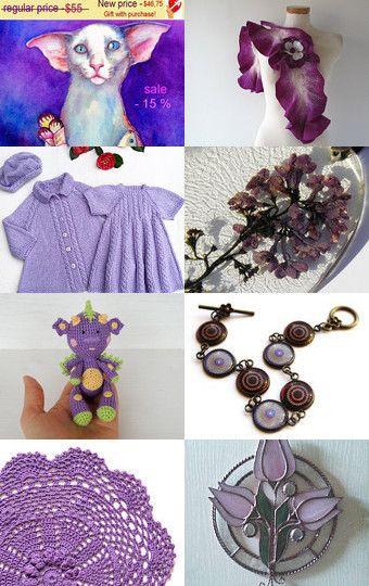 Treasury of True Fairy. Lilac finds. by Anna True Fairy on Etsy--Pinned with TreasuryPin.com