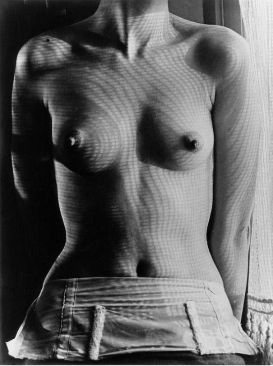 Man Ray, Shadow Patterns on Lee Miller´s Torso, ca 1930 - Kiki de Montparnasse