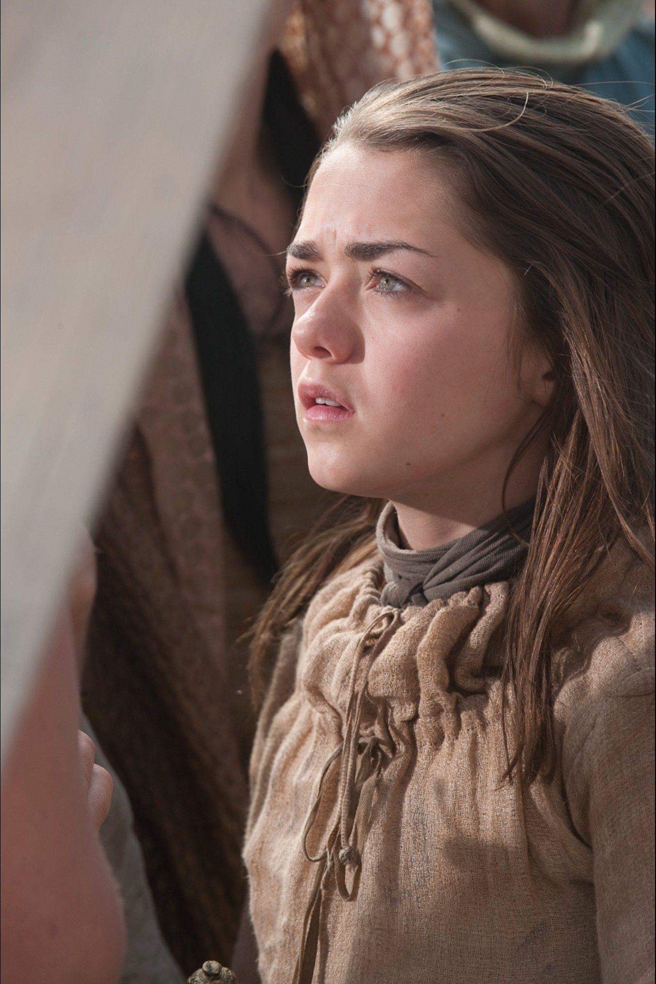 Game of Thrones Season 1 Episode 9 Still Arya stark