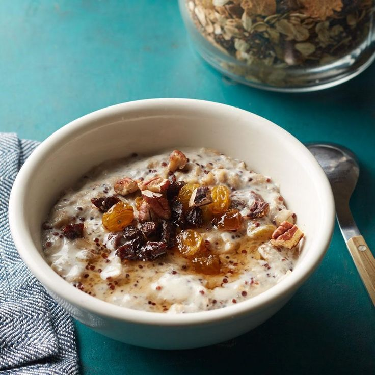 Quinoa chia oatmeal mix recipe cereal healthy recipes and quinoa make your own hot cereal mix with this healthy recipe keep it on hand and ccuart Images