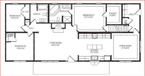 Showcase Homes Of Maine Bangor Me Brewer Executive Ranch Ranch House Plans Floor Plans Floor Plans Ranch