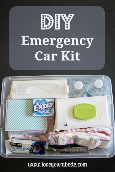 Diy car emergency kit organized essentials in the car pinterest do it yourself car emergency kit here are the items i placed inside my personal solutioingenieria Choice Image