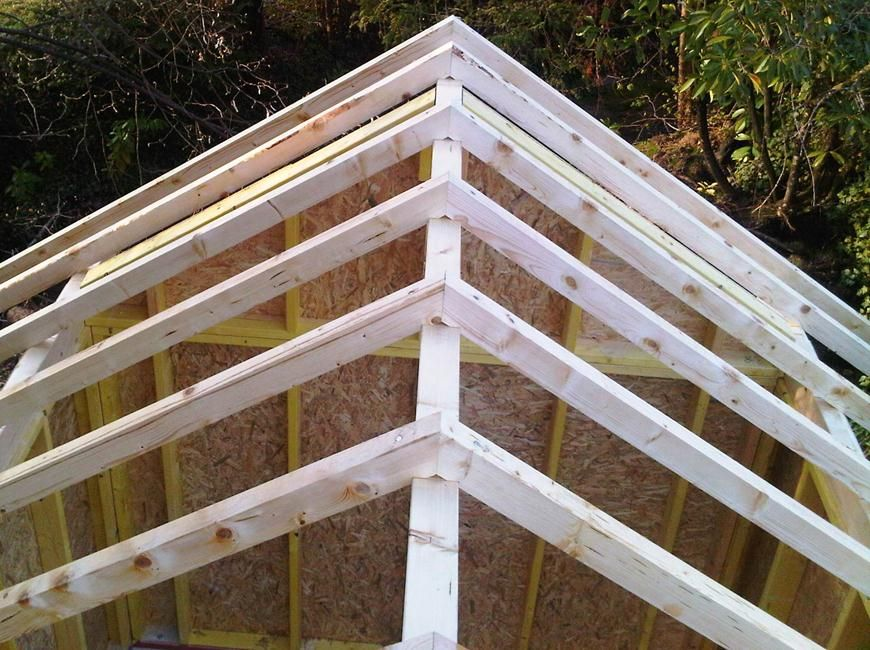 Brise vue bois plan abris jardin ossature bois 01 abri de jardin abri de jardin abri et - Plan cabanon de jardin ...