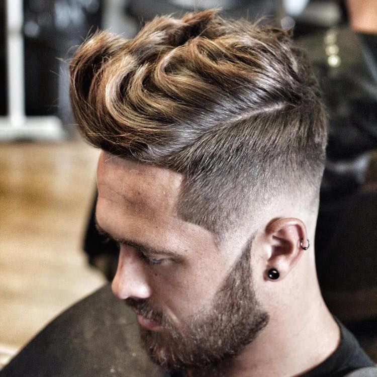 High Fade Thick Long Hair Quiff Hairmake Up Quiff Hairstyles