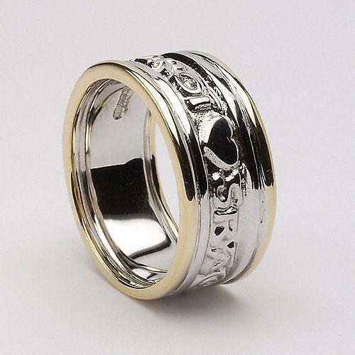 Daniel Claddagh Ring Wedding Celtic Wedding Rings Irish Wedding Rings