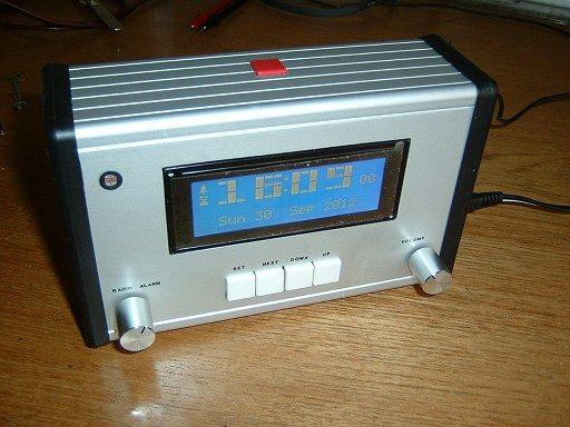 Bedside Alarm Clock Radio