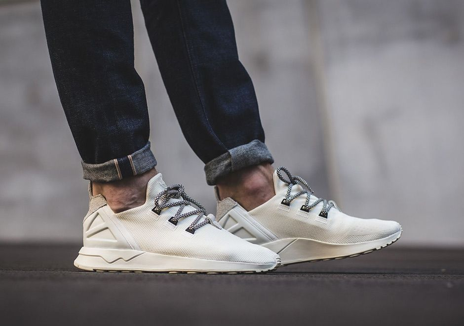 The adidas ZX Flux ADV Uses Yeezy 350 Laces - SneakerNews.com