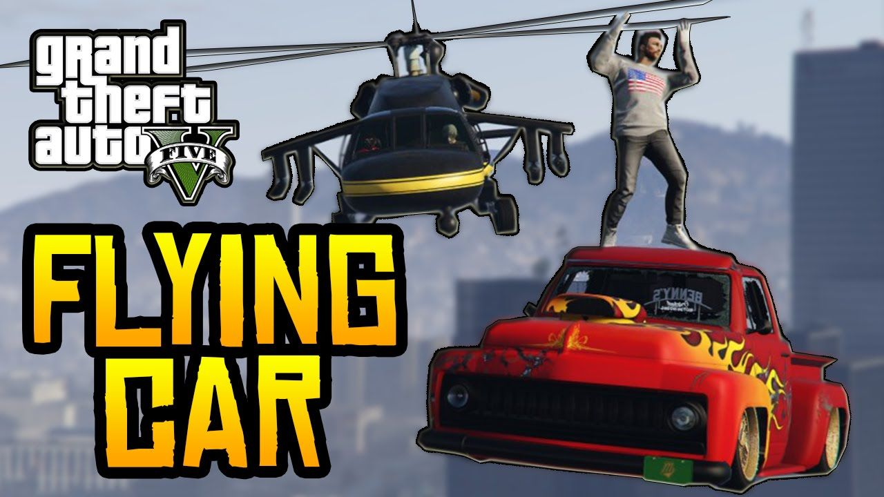 Gta 5 glitches how to make your car fly in gta 5 online