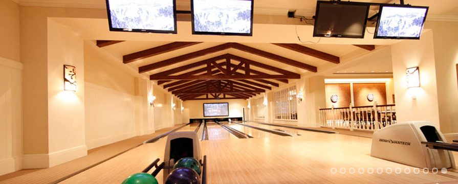 Indoor Bowling Alley at Deer Valley | Inspiration Gallery ...