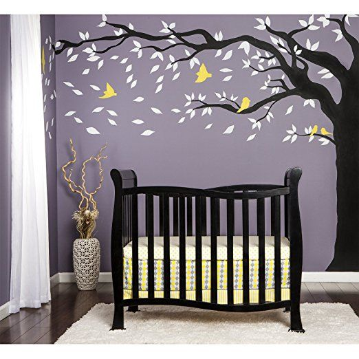 Amazon Com Dream On Me Violet 4 In 1 Convertible Mini Crib Black Baby Mini Crib Cribs Dream On Me