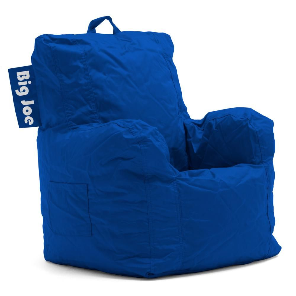Big Joe Kids Cuddle Chair Sapphire Smartmax Bean Bag 0652614