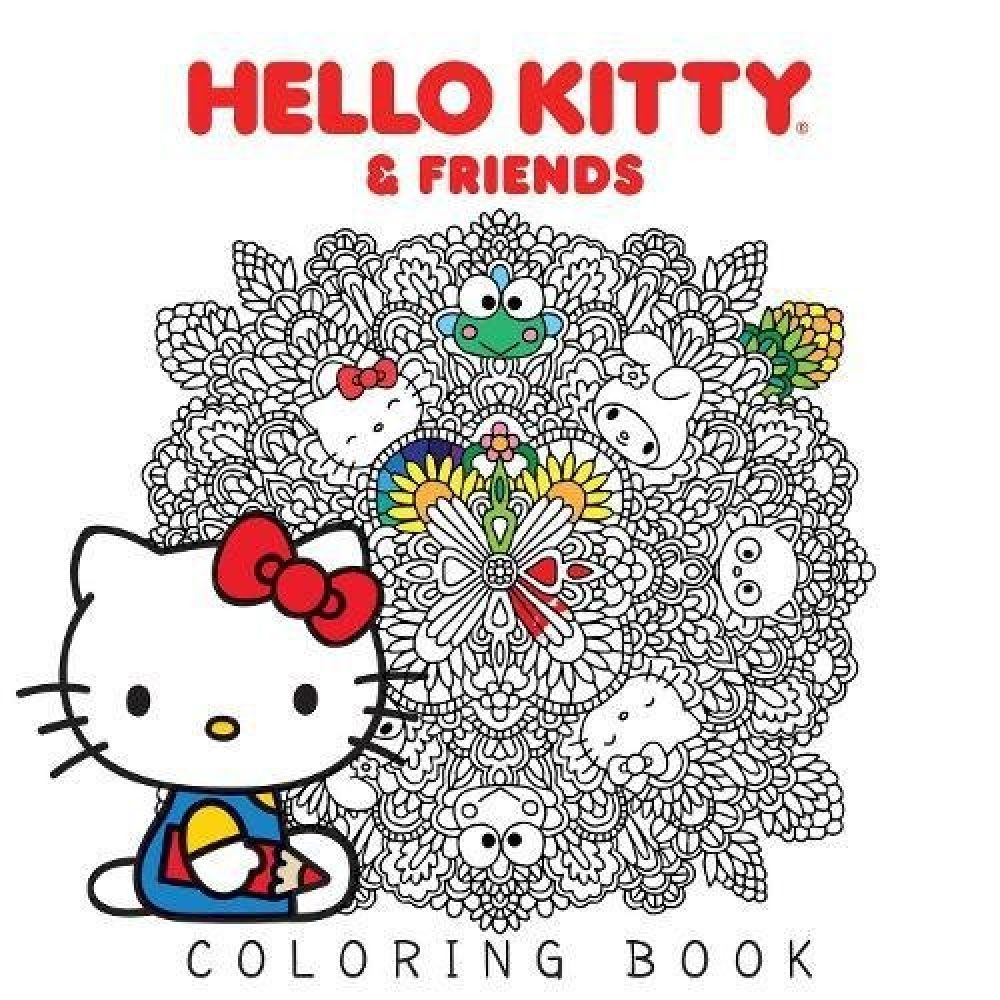 Hello Kitty Friends Coloring Book World Of Hello Kitty Kitty Coloring Cat Coloring Book Hello Kitty Coloring