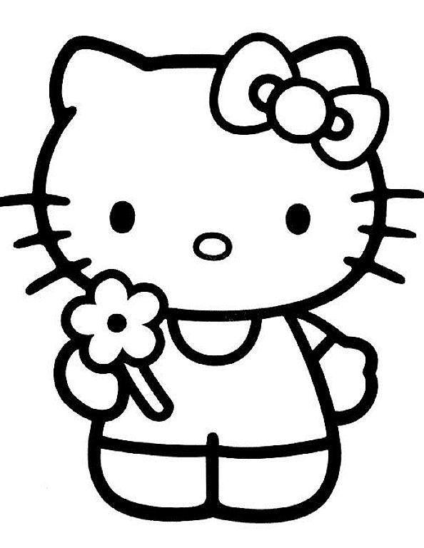 Molde Hello Kitty Goma Eva Hello Kitty Printables Hello Kitty Colouring Pages Hello Kitty Drawing