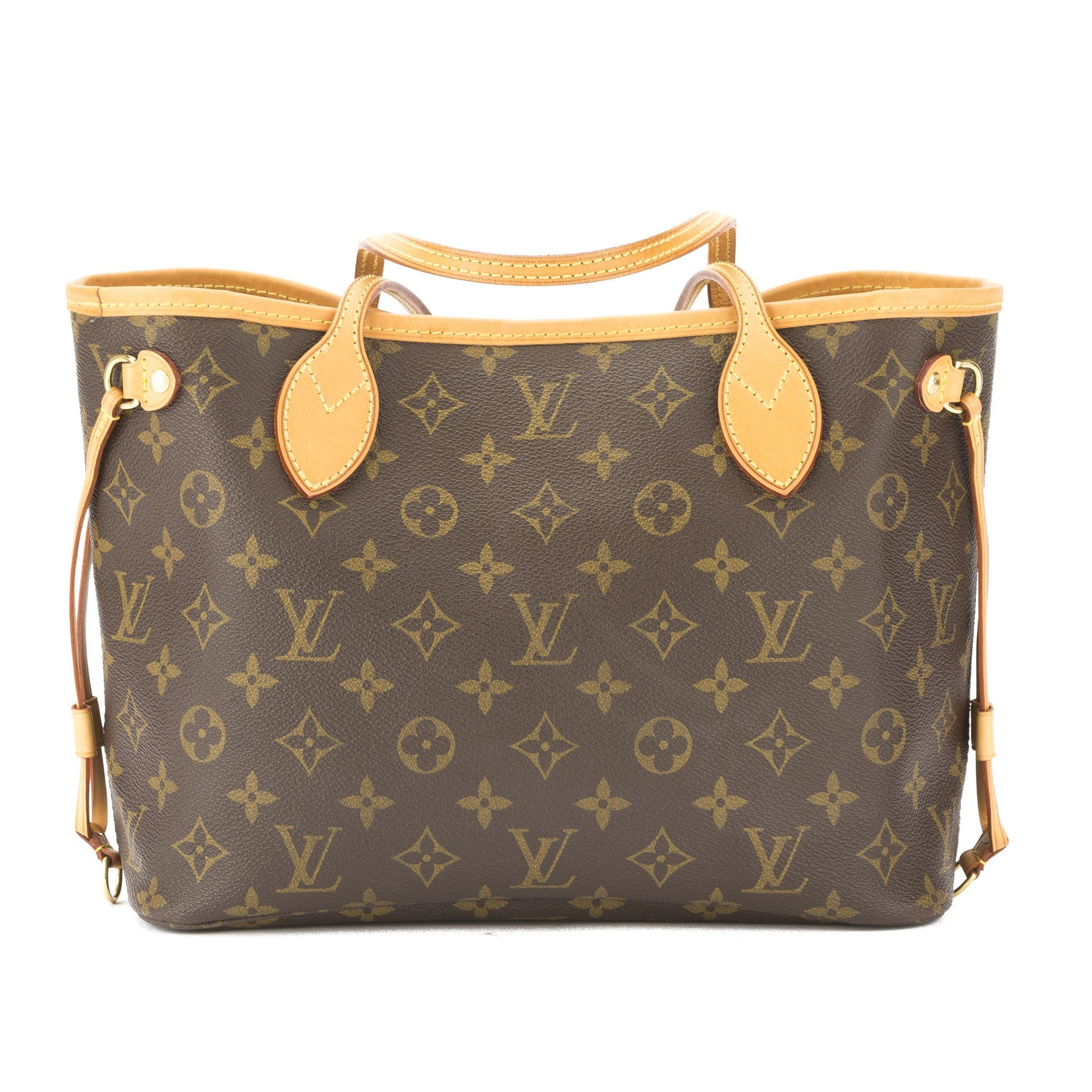 846b5429d7d1 Louis Vuitton Monogram Neverfull PM Bag (Pre Owned)