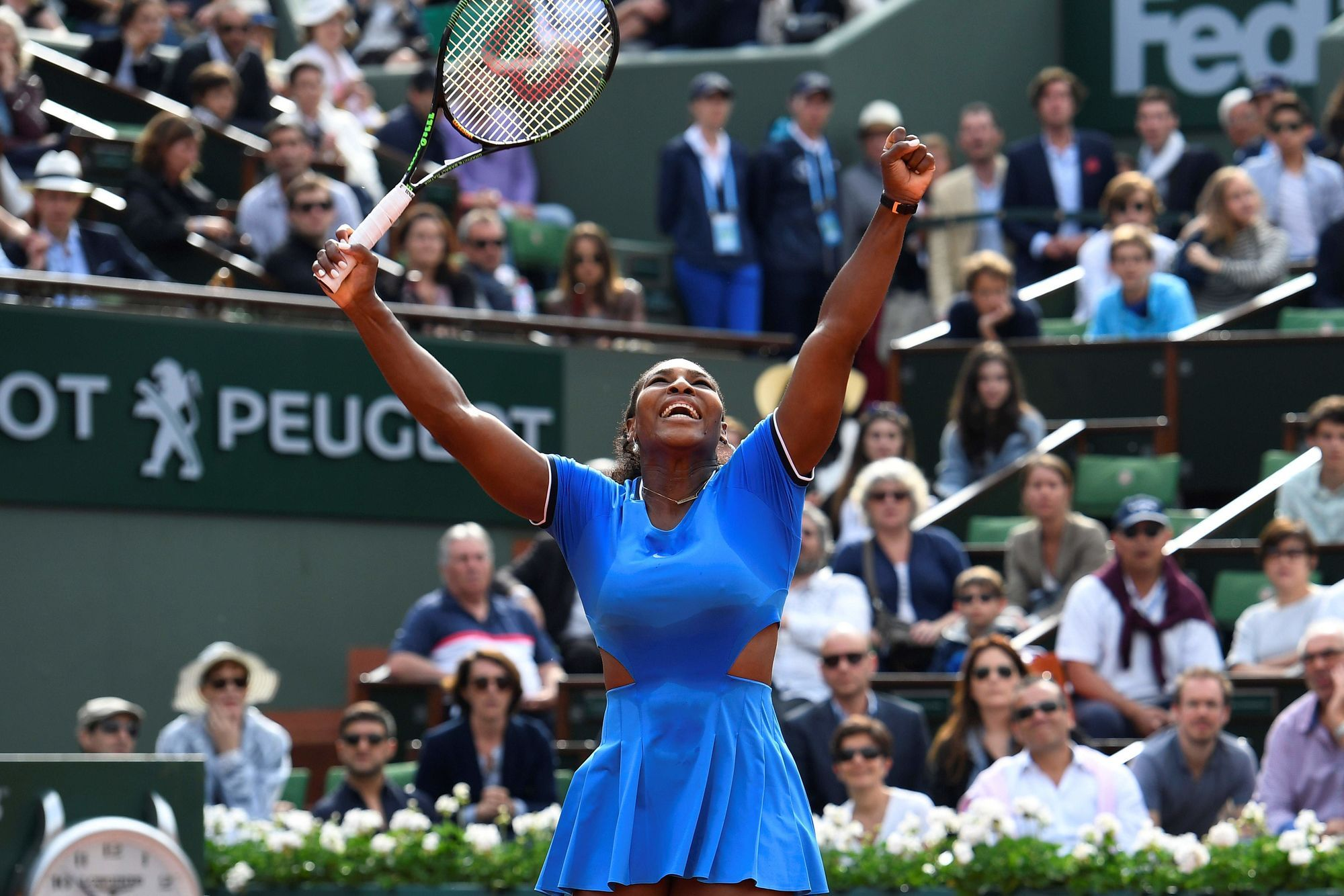 Serena Williams - Roland Garros 2016 - Miguel Medina / AFP - May 28, 2016