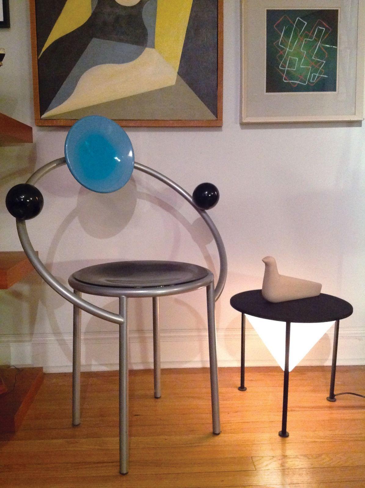 Very Rare Philippe Starck Modernist Memphis Era Post Modern Vtg  # Muebles Postmodernos