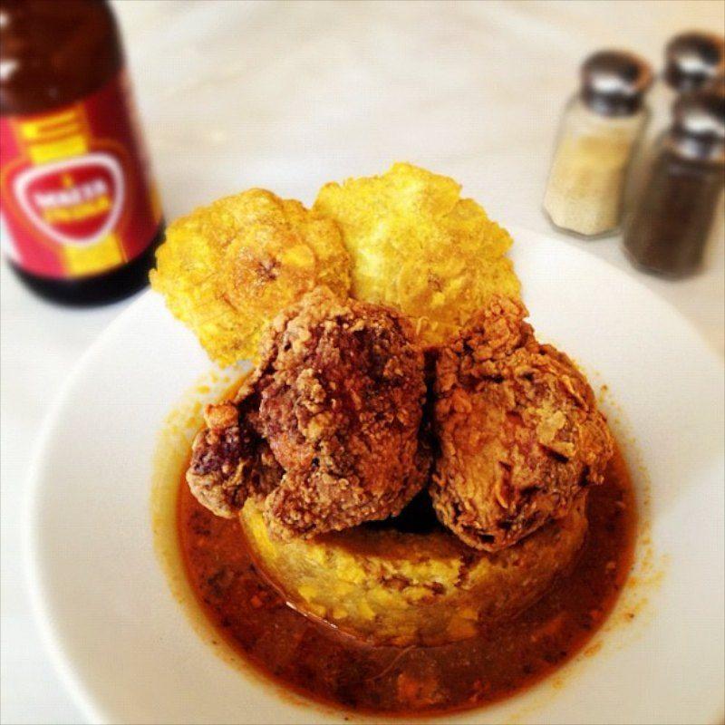Mofongo de pollo empanizado mofongo stuffed with chicken strips cuisine forumfinder Gallery