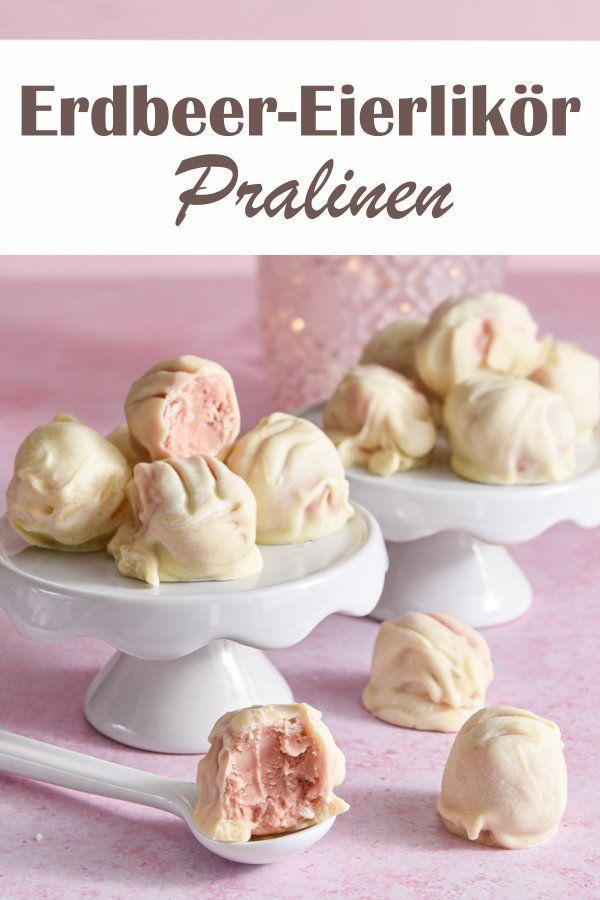 Erdbeer-Eierlikör-Pralinen. Knaller...!!