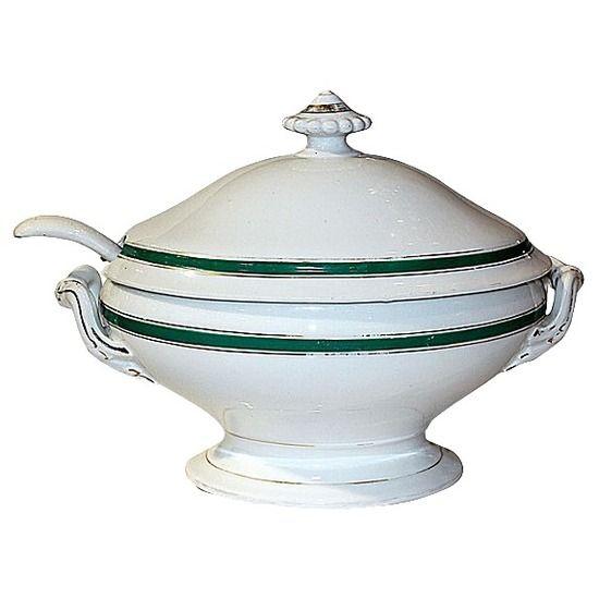 1860s Haviland Limoges Soup Tureen  #huntersalley