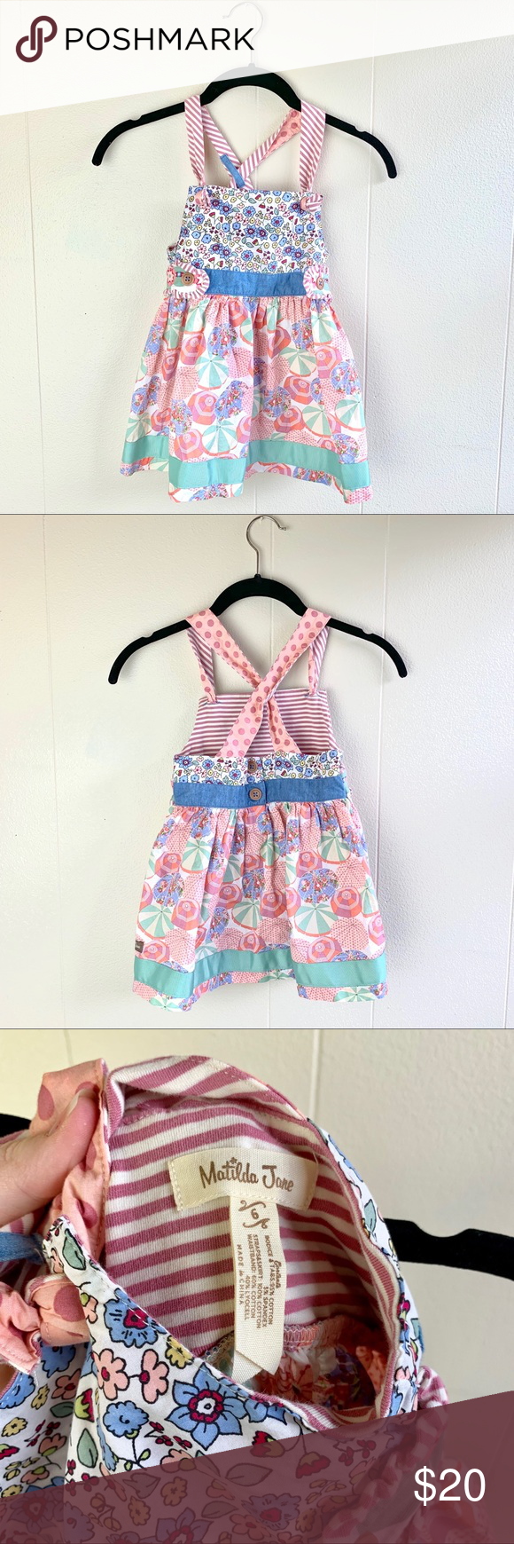 Matilda Jane floral umbrella summer dress / top Super cute umbrella and floral pattern dress Matilda Jane Dresses Casual #cuteumbrellas Matilda Jane floral umbrella summer dress / top Super cute umbrella and floral pattern dress Matilda Jane Dresses Casual #cuteumbrellas