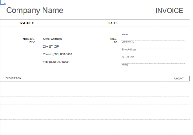 10 Simple Invoice Templates Every Freelancer Should Use Invoice Template Freelance Invoice Template Invoice Template Word