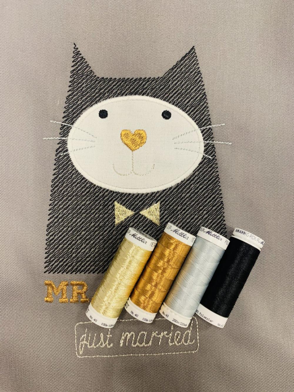 Hochzeitsgeschenk für Katzenfans und Köche » BERNINA Blog