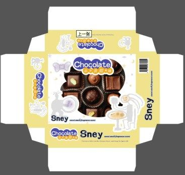 Chocolate packaging box design Carton box, Chocolate boxes and