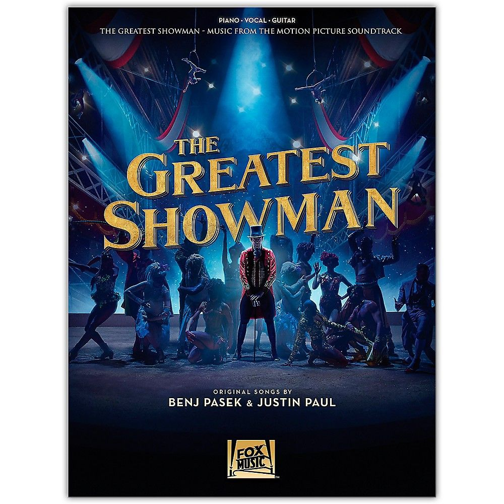 The Greatest Showman Piano Vocal Guitar Sheet Music Book Musical Soundtrack