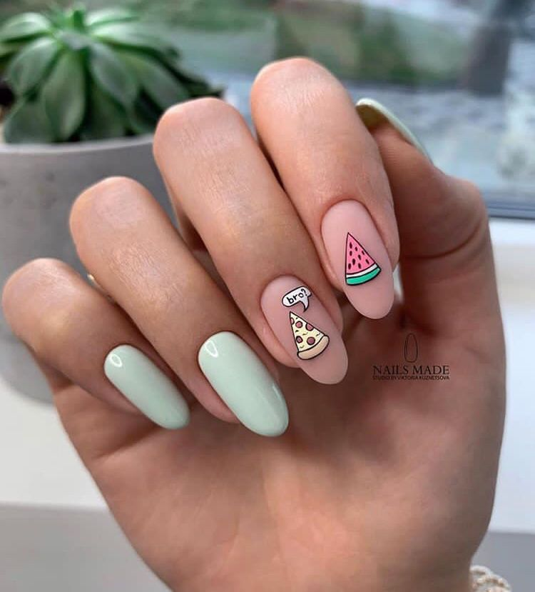 40 Coolest Nail Art Ideas For Spring And Summer Fall Nail Art Fall Nail Art Designs Pastel Nails