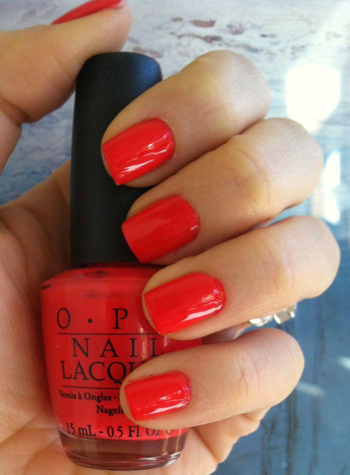 Opi Cajun Shrimp Nail Polish Knotter Favorite Color